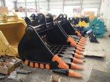 Exkavator zerteilt Wannen-Skeleton Wanne der Verschiebung-30ton für grabenden Felsen