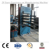 Máquina de fabricação de tijolos de telha de borracha com certificado Ce ISO