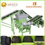 Shredder usado aço do eixo do dobro da capacidade elevada de Bao para a venda