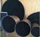 Sistema de escape Honeycomb Substrato do catalisador metálico