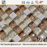 Material de decoración, azulejo de la pared de cristal del mosaico de Interior