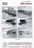 Ferramenta de agricultura agrícola durável Carrinho de mão de jardim (WB6400B)