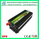 充電器(QW-M3000UPS)が付いている3000W DC12V/24V AC110V/220V UPS力インバーター