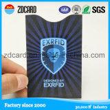 Suporte de cartão da folha de alumínio/luva para o cartão da identificação