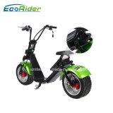 Fournisseur 2017 de la Chine le scooter électrique de Harley des roues de Citycoco les plus populaires 1200W 18*9.5inch 2