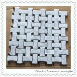 Marmo del nero e di bianco cinese per le mattonelle di mosaico