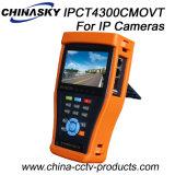 Универсальный тест IP-камера с сенсорным экраном монитора с Tdr (IPCT4300CMOVT)