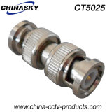 CCTV doble macho BNC al conector macho BNC (CT5025)