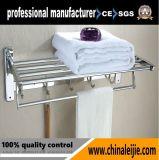 Toalheiro de acessório de banheiro em aço inoxidável para projeto de hotel