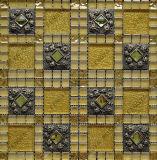 Verre en cristal mosaïque, mélange de résine cristal de diamant de mosaïque, mosaïque de verre (48FD02)