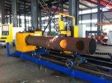 Plasma simple del CNC del uso de la fábrica/corte del tubo de acero inconsútil/del tubo de la llama/máquina de perforación/que ranura