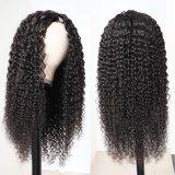 أعلى جودة 9A درجة الشعر الأمامي البشرية wigs ، Kinky قعر شديد HD لace الجبهة الشعر البشري wigs