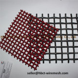 Het roestvrij staal plooide het Netwerk van de Draad /Mine Zevend (Geplooid) Opleveren