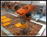ホンダGx160ガソリン5-8cmの跳躍の打撃Gyt-72hが付いている振動の充填のランマー
