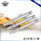 最上質290mAh陶磁器0.5mlガラスタンク蒸発器の使い捨て可能な電子タバコ