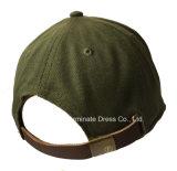 Gorra de béisbol de los 6 paneles con el bordado de la aplicación (LY093)