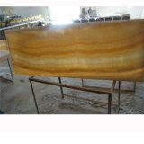 고전적인 중국 노란 꿀 오닉스 대리석