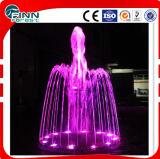 Fontana di acqua chiara decorativa di Dancing di musica del diametro 1.8m del LED