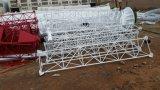 3leg het Seinhuisje van de Antenne van Guyed van de Staaf van het staal