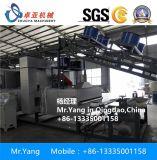 PVC 비닐 지면 매트 밀어남 기계