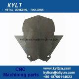 Hohe Präzisions-Maschinen-Prozess zerteilt CNC die Aluminiummaschinelle Bearbeitung