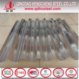 Hoja de acero acanalada del material para techos del cinc del material para techos del metal
