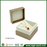 Novo estilo personalizado embalagem caixa de jóias de plástico
