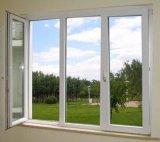 ハリケーンEx-Factory価格(PCW-011)の影響によって二重ガラスをはめられるPVC開き窓のガラス窓
