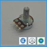Potentiomètre rotatif à carbone unique de 0,05 W à 16 mm