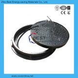 tampas de câmara de visita seladas círculo de 700mm com padrão En124