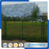 Покрынная порошком сваренная панель загородки ячеистой сети для консигнанта фабрики