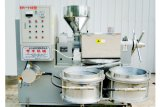 Máquina 225kg/Hour del expulsor del petróleo de /Groundnut de la prensa de petróleo de cacahuete