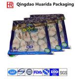 Tre lati hanno sigillato il sacchetto di imballaggio di plastica dei frutti di mare, sacchetto dell'alimento Frozen