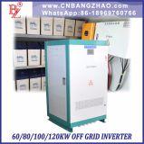 80kw 360V 480V 600V entrada fuera de la red inversor de potencia con entrada de CA para el sistema de energía híbrida