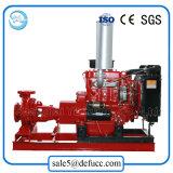 Пожарный насос двигателя дизеля всасывания конца от поставщика Китая