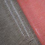 A pele animal gosta do couro artificial de couro sintético do saco do plutônio