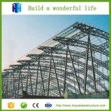 El almacenaje del carbón vertió el edificio prefabricado del taller de la estructura de acero