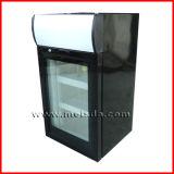 Porte en verre congélateur vertical