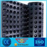 доска дренажа HDPE веса грамма 1100g 8mm толщиная