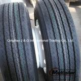Montage-LKW-Rad-Felge und Reifen
