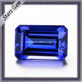 Laboratório de baixo preço criadas Gemstone Safira azul para jóias