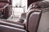Recliner Eléctrico Leather Sofa (536A)