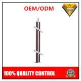 Pilar de madera de la escalera de la alta calidad con los accesorios principales del acero inoxidable (JBD-B53)