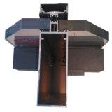 Aluminiumrahmen-erstellt Glaspanel-Zwischenwand-Stock-Systems-Zwischenwand-Glaswand-Aluminiumstrangpresßling Aluminiumprofil ein Profil
