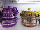 Stockpot сковороды & бака Coated сплава алюминиевый Non-Stick для комплектов Sx-Yt-A008 Cookware