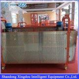 Antenne hydraulique portable verticale plate-forme de travail suspendue en aluminium