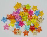 Mehrfarbenplastiktasten/Ikonen für Scrapbooking u. DIY Fertigkeiten