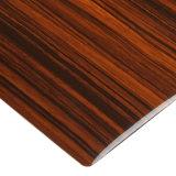 Recouvrement en bois de PVC de feuille en bois de configuration