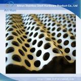 Gewölbtes perforiertes Aluminiummetallplatten mit Welle
