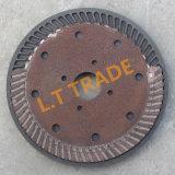 Molde del grafito de la sinterización el presionar caliente para los discos del corte